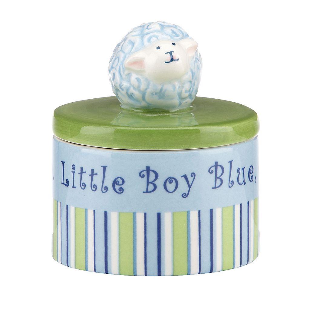Merry Go Round Little Boy Blue Sheep Trinket Box
