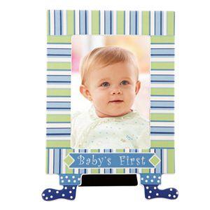 """Merry Go Round Little Boy Blue """"Baby's First"""" 5"""" x 7"""" Frame"""
