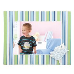 Merry Go Round Little Boy Blue Striped 5' x 7' Frame