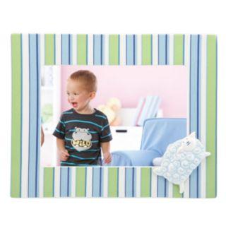 Merry Go Round Little Boy Blue Striped 5'' x 7'' Frame