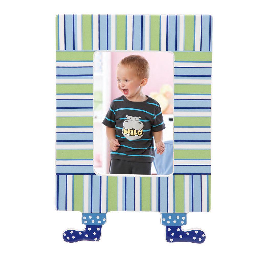 Merry Go Round Little Boy Blue Striped 4