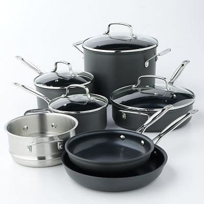 Cuisinart Chef's Classic Nonstick Hard-Anodized 11-pc. Cookware Set