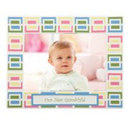 Merry Go Round Pitter Patter Our New Grandchild 5 x 7 Frame