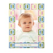 Merry Go Round Pitter Patter 'Our New Baby' 5 x 7 Frame