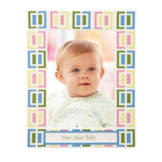 Merry Go Round Pitter Patter Our New Baby 5 x 7 Frame