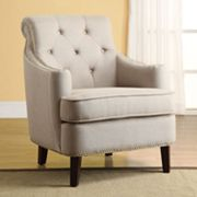 Linon Diamond Back Accent Chair