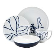 Nikko Artist Blue 16-pc. Dinnerware Set