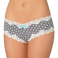 Juniors' Saint Eve Lace-Trim Hipster 516402