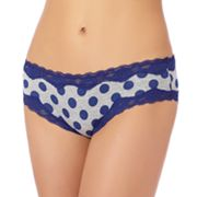 St. Eve Dot Lace-Trim Hipster