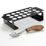Charcoal Companion Jalapeno Pepper Grilling Rack and Corer Set