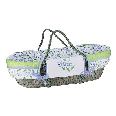 Trend Lab Caterpillar Moses Basket
