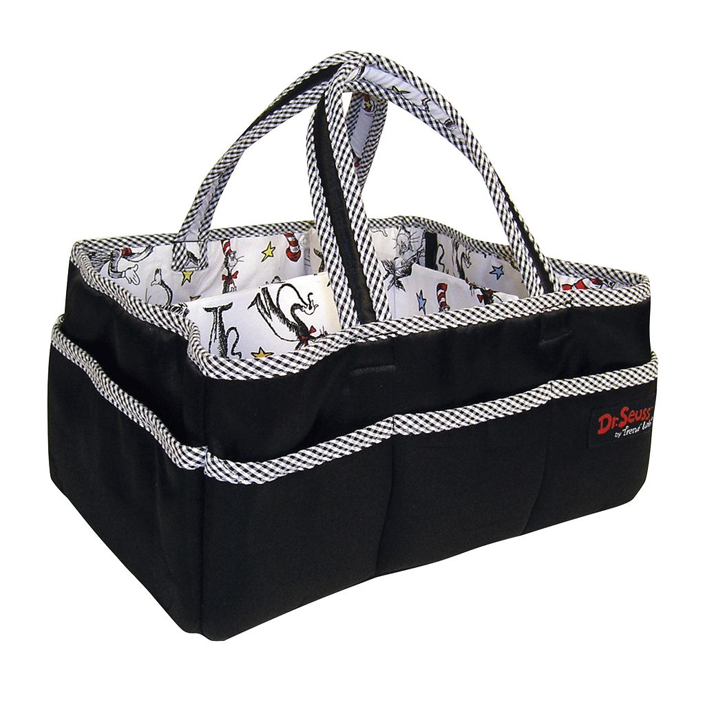 Dr. Seuss The Cat in the Hat Diaper Storage Caddy by Trend Lab
