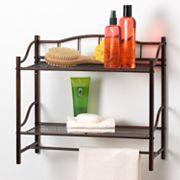Creative Bath 2-Shelf Wall Organizer