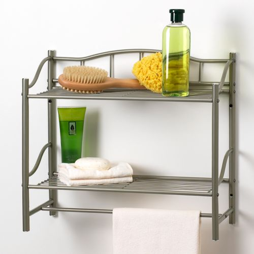 Creative Bath 2-Shelf Wall Organizer