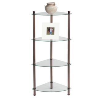 Creative Ware Home 4-Shelf Corner Tower
