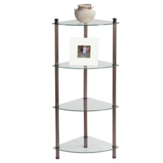 Creative Ware Home 4-Shelf Corner Tower