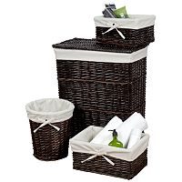 Creative Bath Wickerworks 4 pc Hamper Set