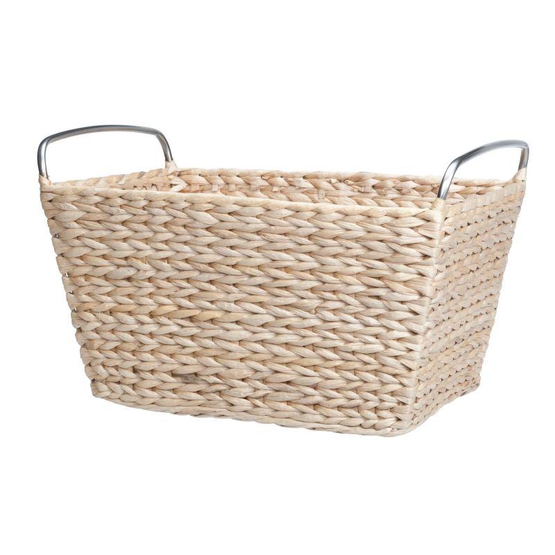 99 home basics under shelf basket small white