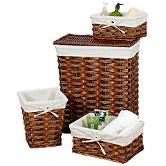 Creative Ware Home Windsor 4-pc. Basket Set
