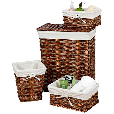 Creative Bath Windsor 4-pc. Basket Set