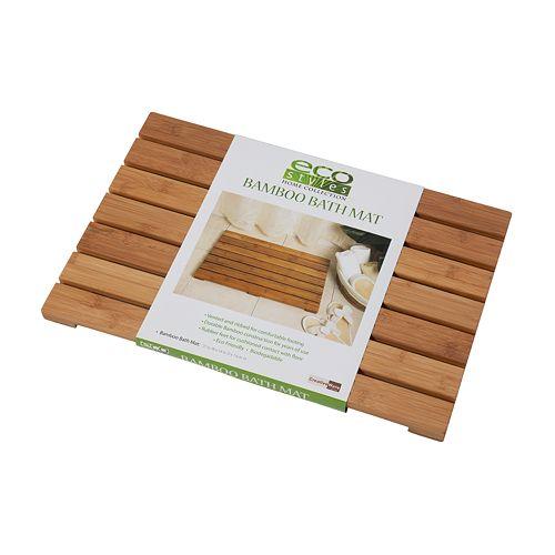 Creative Ware Home Bamboo Bath Mat