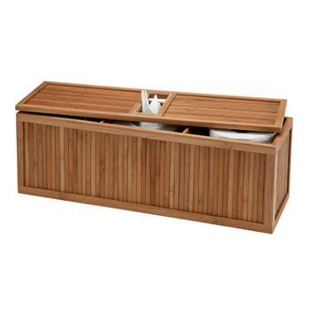 Creative Ware Home Bamboo Tank Topper Basket