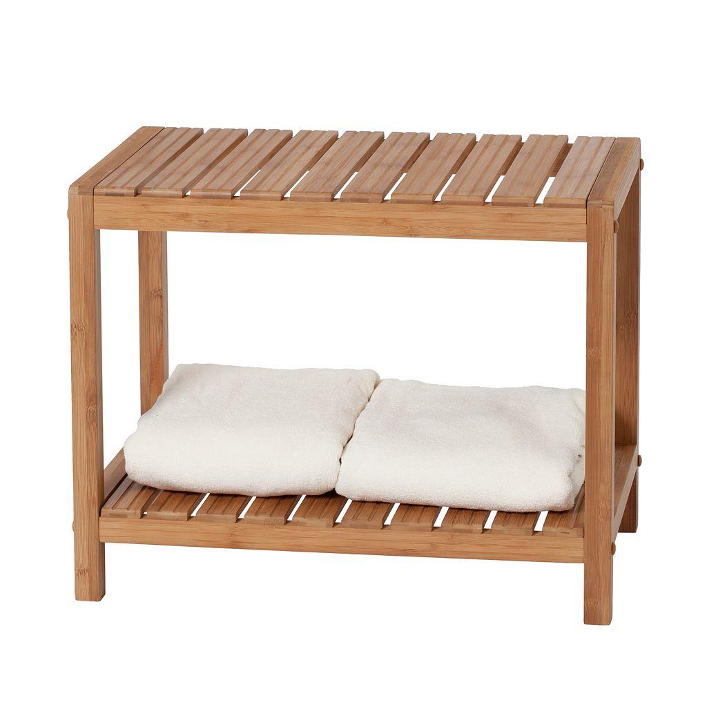 Creative Ware Home Bamboo Spa Bench