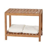 Creative Ware Home Bamboo Spa Bench