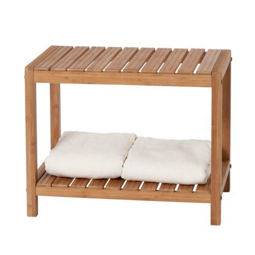 Creative Bath Bamboo Spa Bench