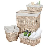 Creative Ware Home Arcadia 4 pc Hamper Set