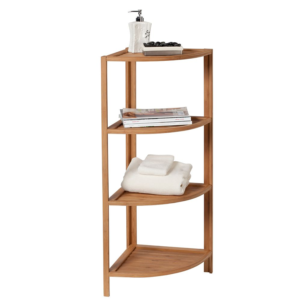 Creative Ware Home 4-Tier Corner Shelf