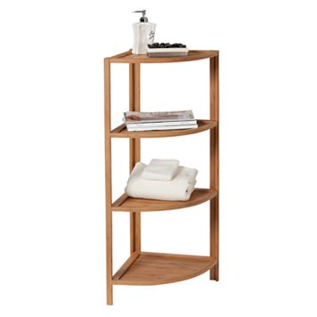 Creative Ware Home 4-Tier Corner Shelf