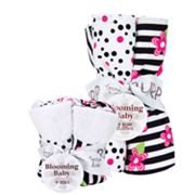 Trend Lab Zahara 8-pc. Bib and Burp Cloth Set
