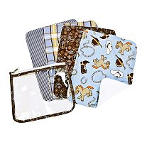 Trend Lab Cowboy Baby Burp Cloth Set
