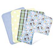 Trend Lab Baby Barnyard 4 pkBurp Cloth Bouquet