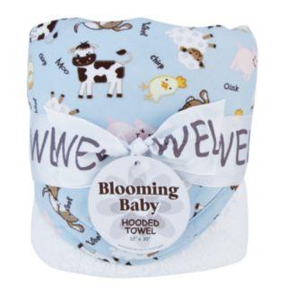 Trend Lab Baby Barnyard Hooded Towel