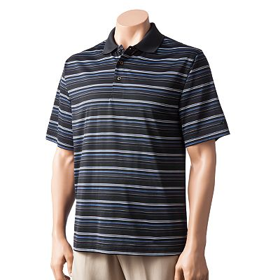 Grand Slam Cavalier Striped Performance Polo