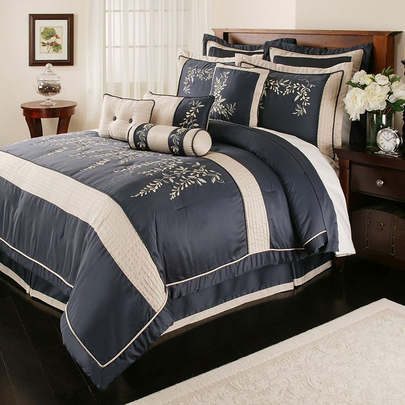 of bedding including this lush decor lucia comforter set at kohls