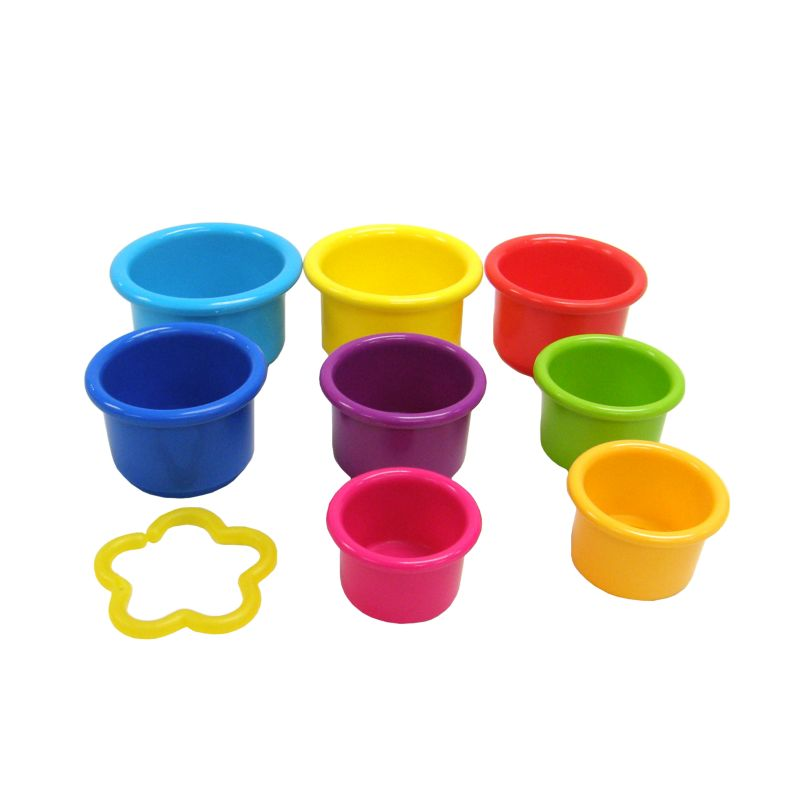 The First Years Stack and Count Cups, Multicolor - Conor ...