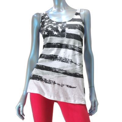 Rock and Republic Flag Embellished Tank