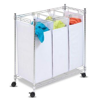 Honey-Can-Do Triple Laundry Sorter
