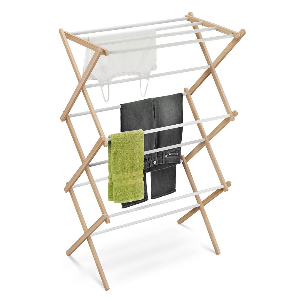 Honey-Can-Do Wooden Accordion Drying Rack