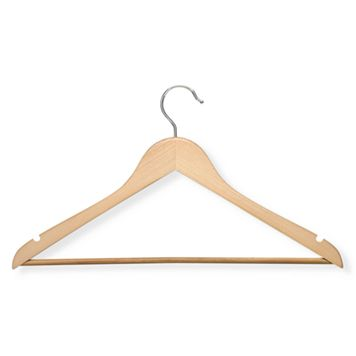 Honey-Can-Do 24-pk. Maple Suit Hangers