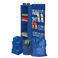 Honey-Can-Do 8 pc Back-To-School Home Storage Kit