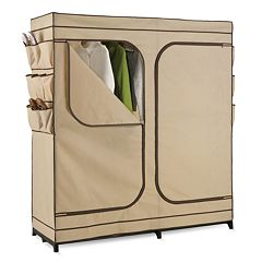 Honey-Can-Do Double-Door Portable Wardrobe