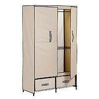 Honey-Can-Do Double-Door Wardrobe