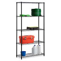 Honey-Can-Do 5 tier Adjustable Storage Shelving Unit