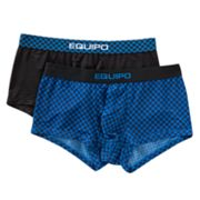 equipo 2-pk. Checked Brazilian Trunks