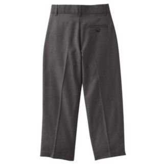 Boys 4-7x Chaps Charcoal Dress Pants