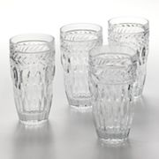Shannon by Godinger 4-pc. Symphony Highball Glass Set